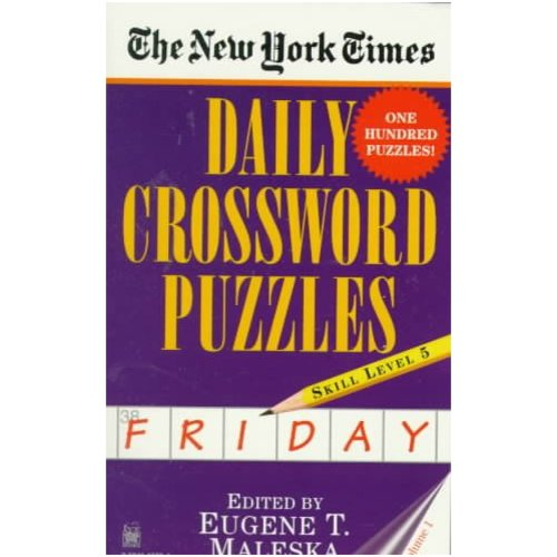 The New York Times Daily Crossword Puzzles: Friday