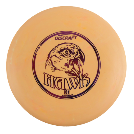 - Discraft Pro D Hawk 167-169g Midrange Golf Disc [Colors may vary] - 167-169g