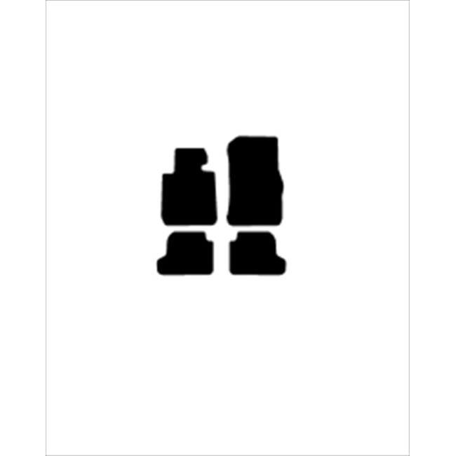 Averys Floor Mats 4480-701 Custom-Fit Nylon Carpeted Floor Mats For 2014-2014 Bmw 2 Series, Black, 4 Piece Set