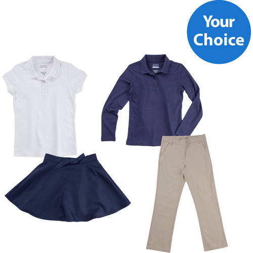 Girls' School Uniforms Outfit Bundle, Your Choice