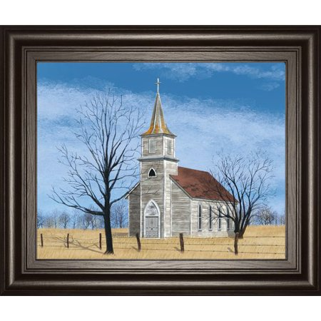 Classy Art Wholesalers 'Little House on the Prairie' by Billy Jacobs Framed Painting Print