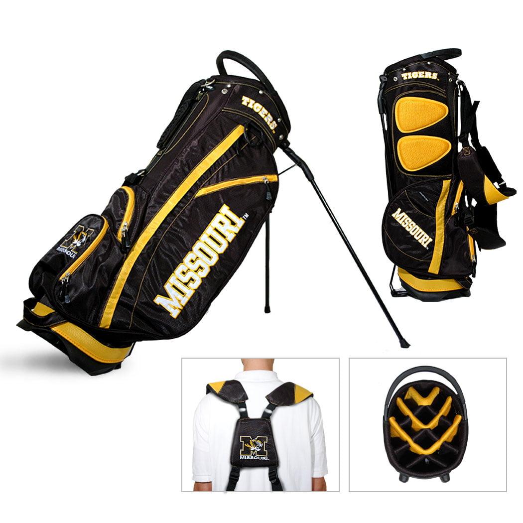Missouri Tigers Team Golf Fairway Lightweight 14-Way Top Golf Club Stand Bag by