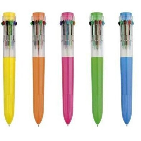 dazzling toys Shuttle Pens 1 Dozen Prettily Designed Colored Shuttle Pen ()