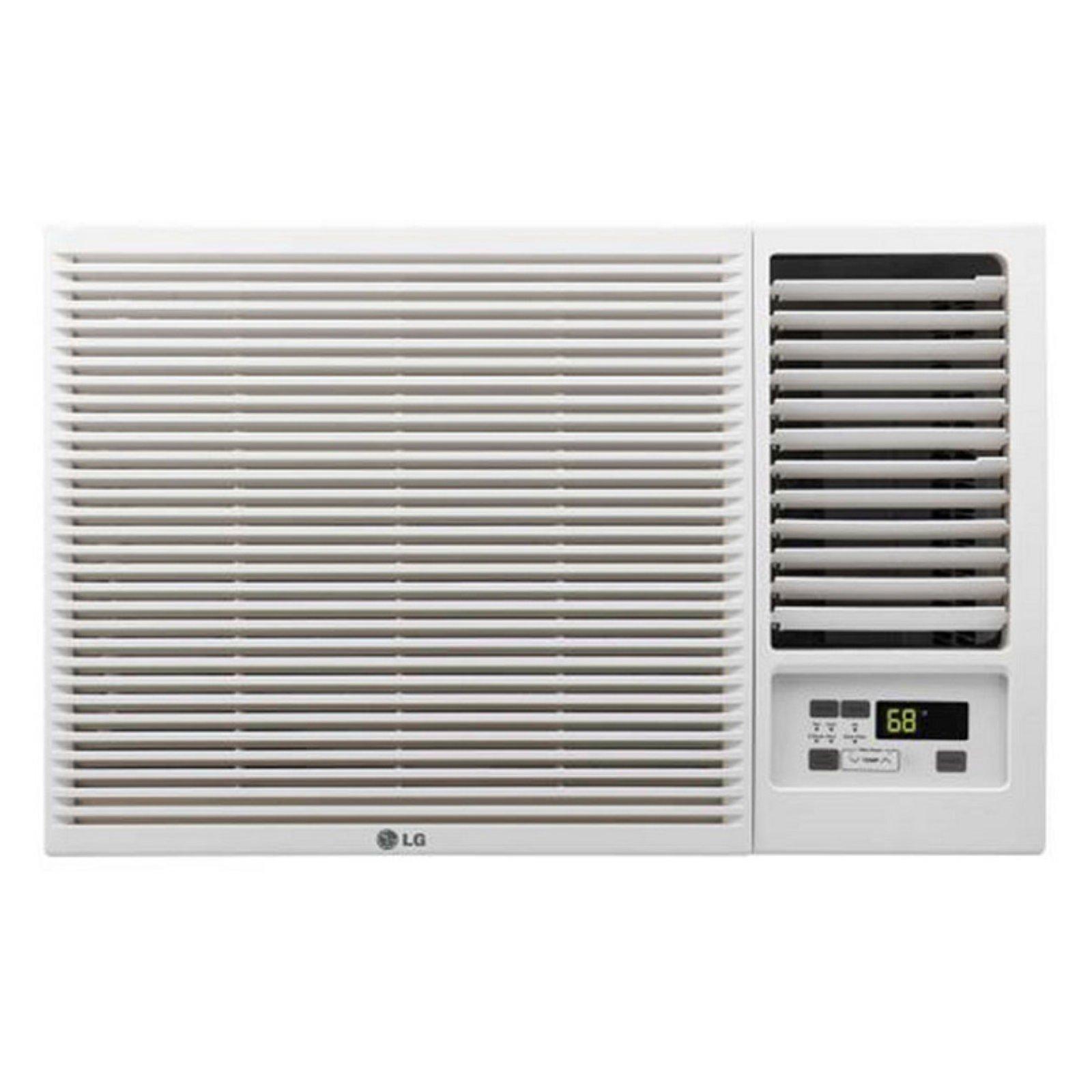 LG LW8016HR 7,500 BTU 115V Window-Mounted Air Conditioner with 3,850 BTU Supplemental Heat Function