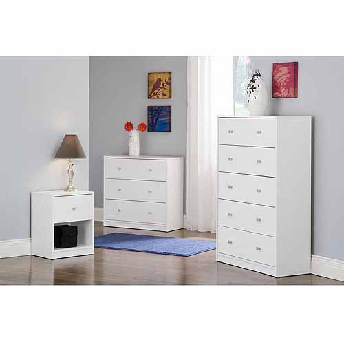 Studio Bedroom Furniture Collection, White