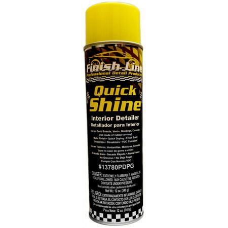Finish Line Quick Shine - Professional Auto Interior