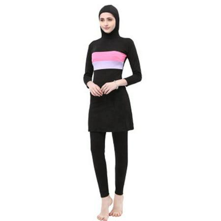 New Style Women's Muslim Islamic Full Coverage Swimwear Bathing