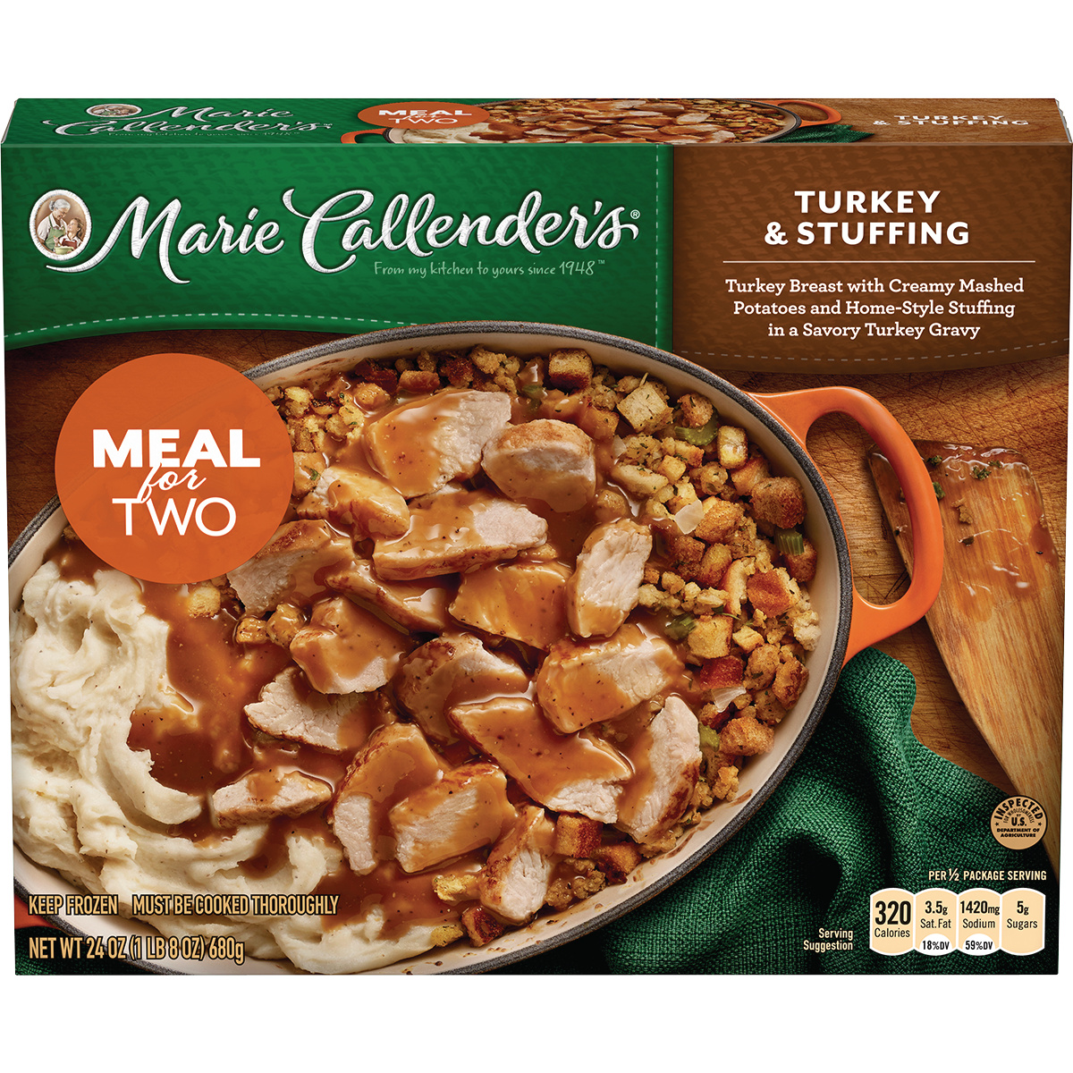 Marie Callender's Turkey & Stuffing, 24 Ounce
