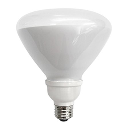 E26 Compact Fluorescent Bulb (TCP 1R4019 Single 19 Watt Frosted R40 Medium (E26) Compact Fluorescent Bulb - 2700K)