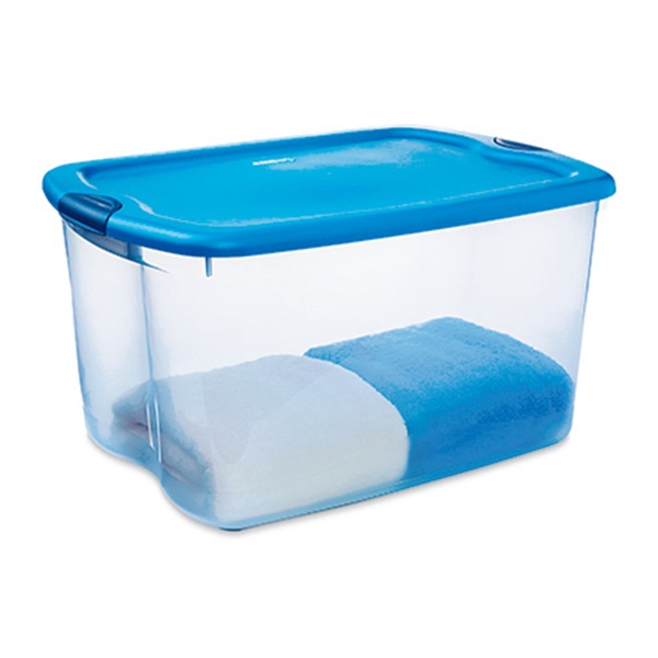 66qt Blu Latch Stor Box Pack Of 4 Walmart Com