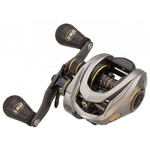 Click here to buy Lews Fishing Custom Pro Speed Spool ACB Casting Reel 8.3:1 Gear Ratio, 11 Bearings, 14 lb Max DSrag, Left Hand by Lews Fishing.
