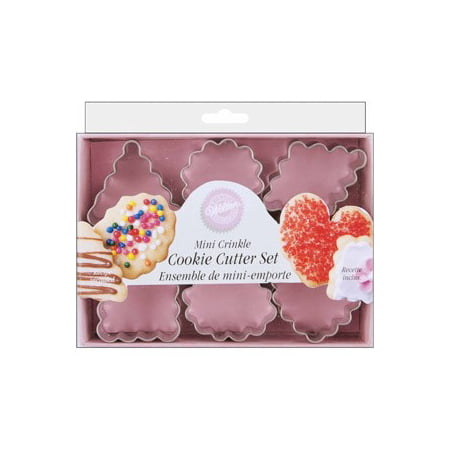Wilton Metal Cookie Cutter Set, Romantic, 6 pc.
