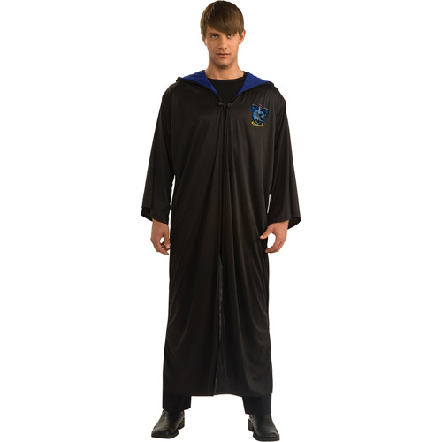 Harry Potter Ravenclaw Robe Adult Halloween Costume, Size: Men's - One Size