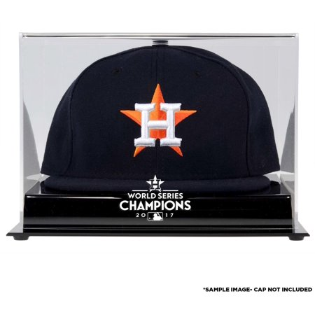 (Houston Astros 2017 MLB World Series Champions Acrylic Logo Cap Display Case)