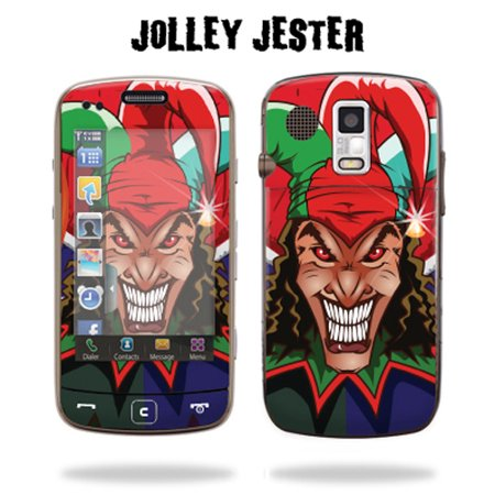 Skin Decal Wrap cover for SAMSUNG ROGUE U960 Beaming Skull