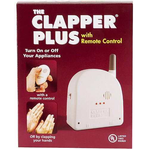 Clapper Plus w/Remote Control