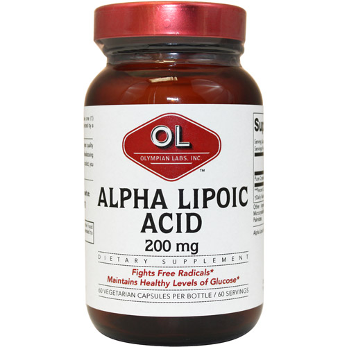 Olympian Labs Alpha Lipoic Acid Extra Strength Capsules, 60ct