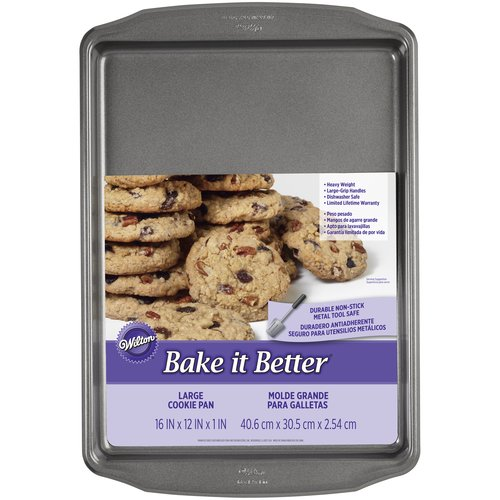 Wilton Bake It Better Cookie Sheet, 16 x 12 in.