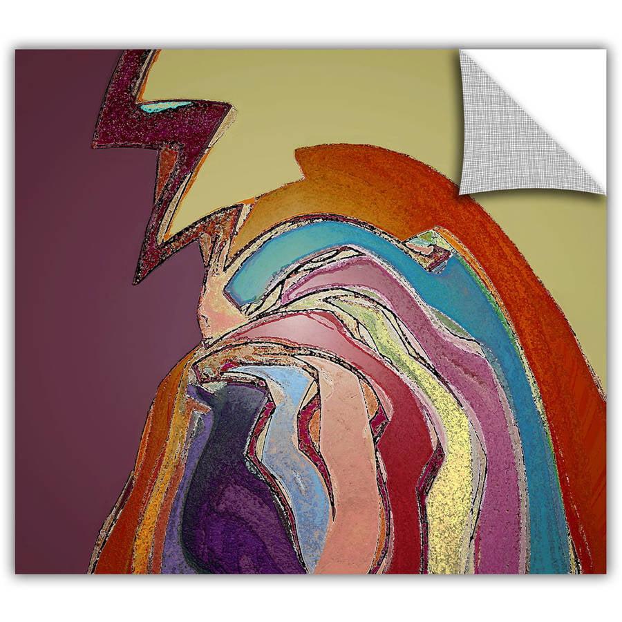 24 x 32 ArtWall Steve Ainsworths Hanging on Art Appeelz Removable Graphic Wall Art