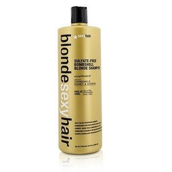 (Sexy Hair Concepts Blonde Sexy Hair Sulfate-Free Bombshell Blonde Shampoo (daily Color Preserving))