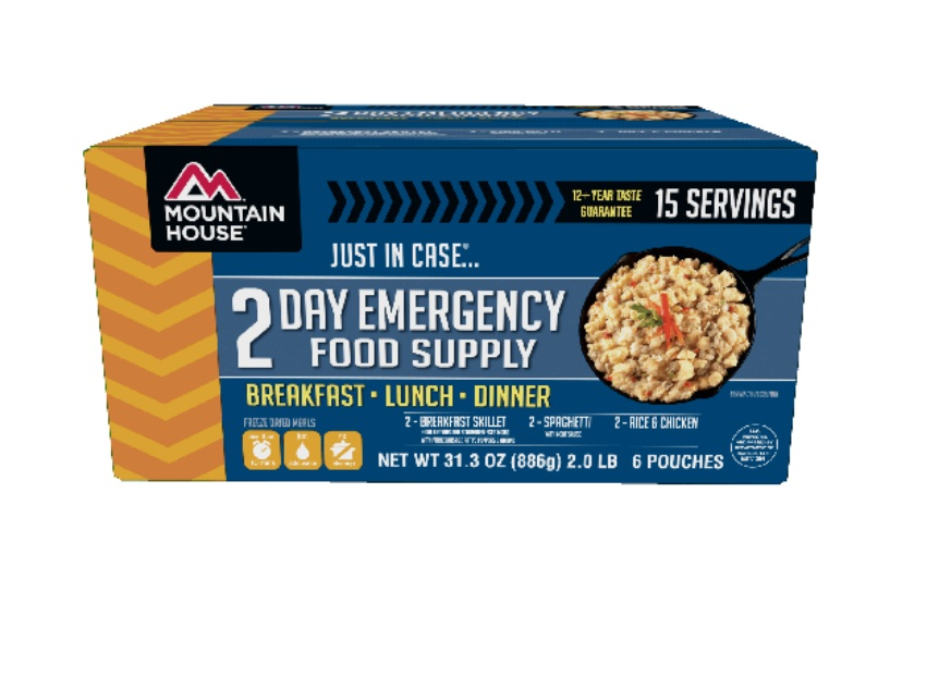 Mountain House Just In Case 2-DAY Emergency Food Supply by Mountain House