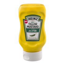 Mustard: Heinz Yellow with Jalapeno