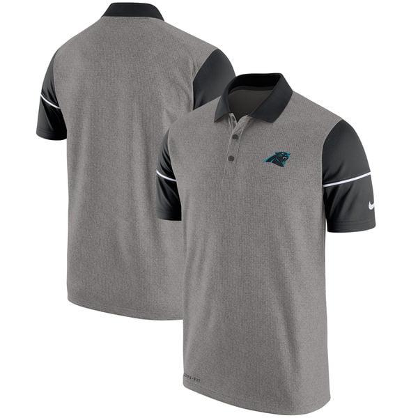 Carolina Panthers Nike Men's Dri Fit Championship Drive Polo Shirt 3XL