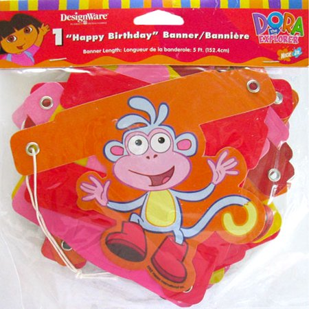 Dora the Explorer 'Fiesta' Happy Birthday Banner (1ct)](Fiesta Garland)