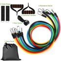 11-Piece iMounTEK Resistance Bands Set