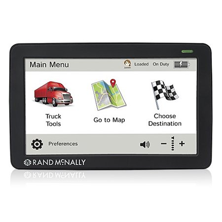 Refurbished Rand McNally IntelliRoute TND 730LM Free Lifetime Maps Truck GPS ()