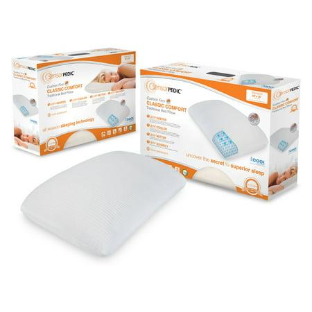- Soft-Tex SensorPedic® Classic COMFORT Traditional 2-Pack Pillow - 14 x 20 in.