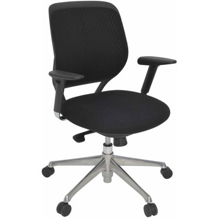axis mesh swivel chair black