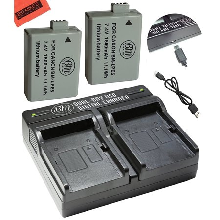 Accessories & Parts Consumer Electronics Usb Battery Charger For Canon Lp-e5 Eos 1000d 450d 500d Kiss F Kiss X2 Rebel Xsi