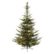 Kaemingk 7.5 ft. Everlands Nobilis Fir Pre-Lit LED Full Christmas Tree