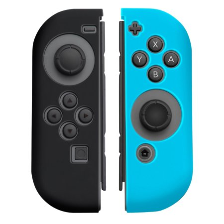 Nintendo Switch Joy-Con case, by Insten Nintendo Switch Joy-Con [L/R] Cover [Anti-Slip/Ultra Thin] Protective Skin Cover Case For Nintendo Switch Joy Con Left/Right Controller [2017 New Release]