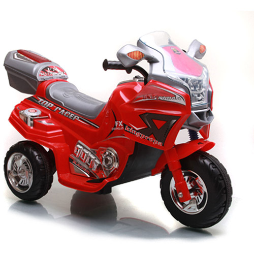 Lil' Rider Top Racer Sport Bike 6-Volt Battery-Powered Ride-On, Red