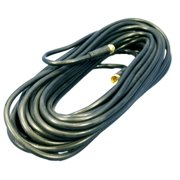 Black 50' Coaxial Video Cable w/ GOLD PLUG Ends F-Type RG59 C5851-50G