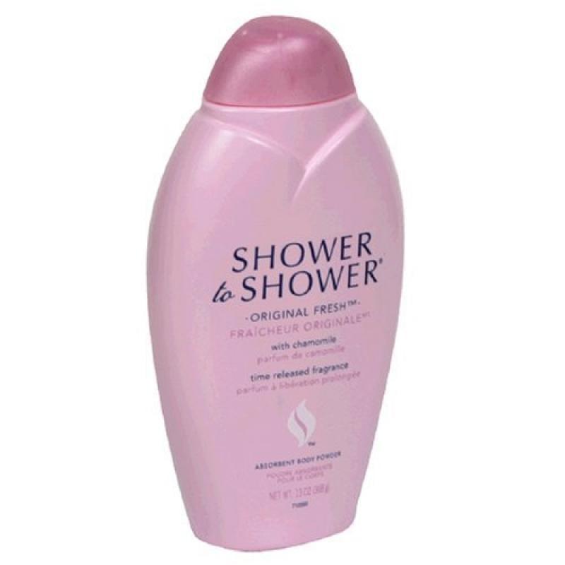 Shower to Shower Absorbent Body Powder Original Fresh 13 oz
