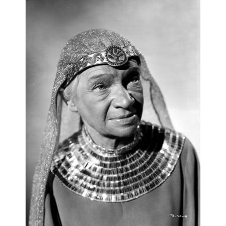 Egyptian Attire (Maria Ouspenskaya Posed in Egyptian Attire Photo)