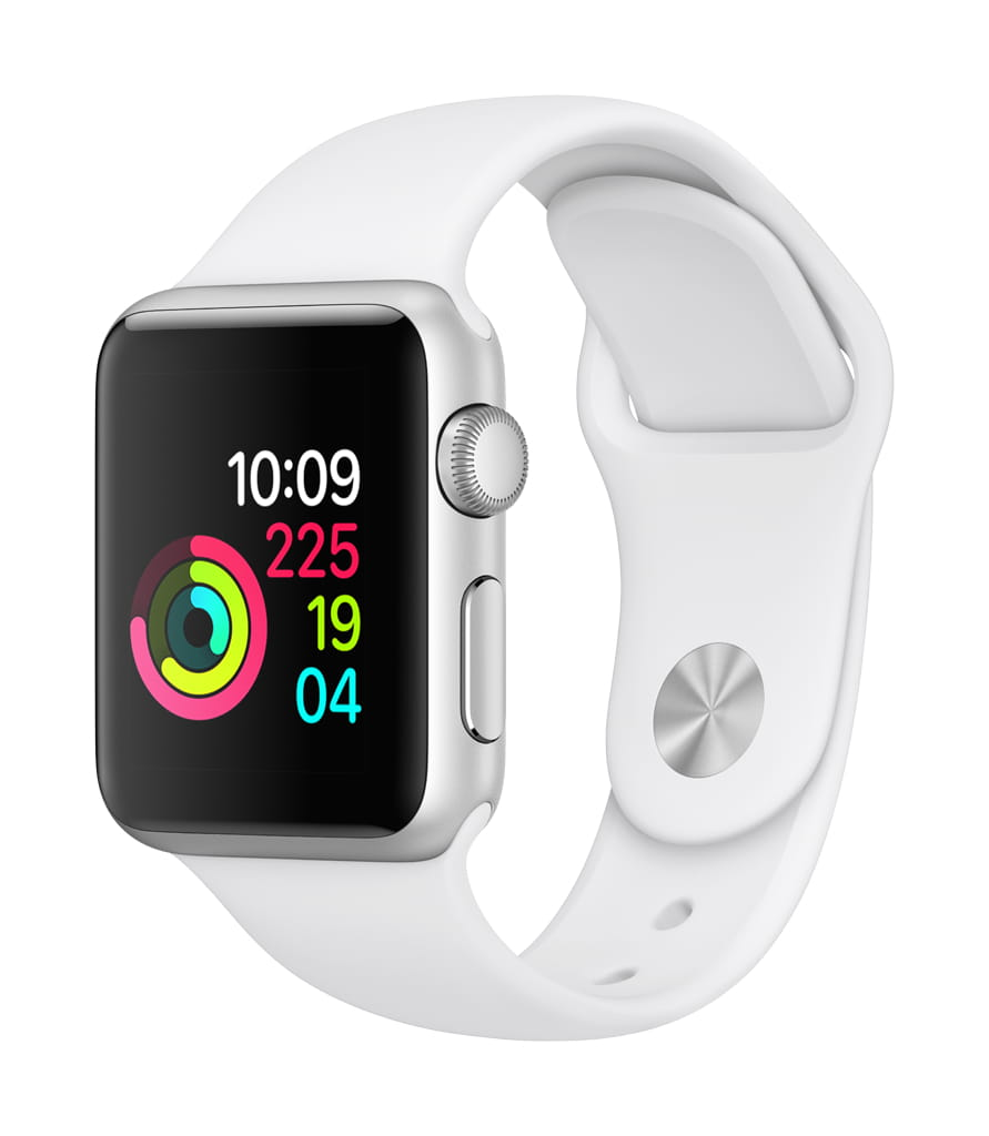 Apple Watch Series 1 42mm Smartwatch Sports Watch in (Silver/White or Space Gray/Black)