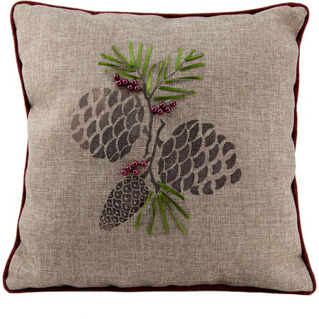 Embroidered Christmas Pillows