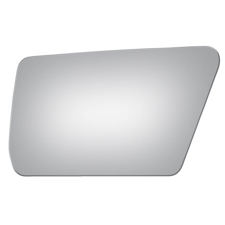 Burco 2510 Left Side Manual Replacement Mirror Glass for Toyota Celica, -