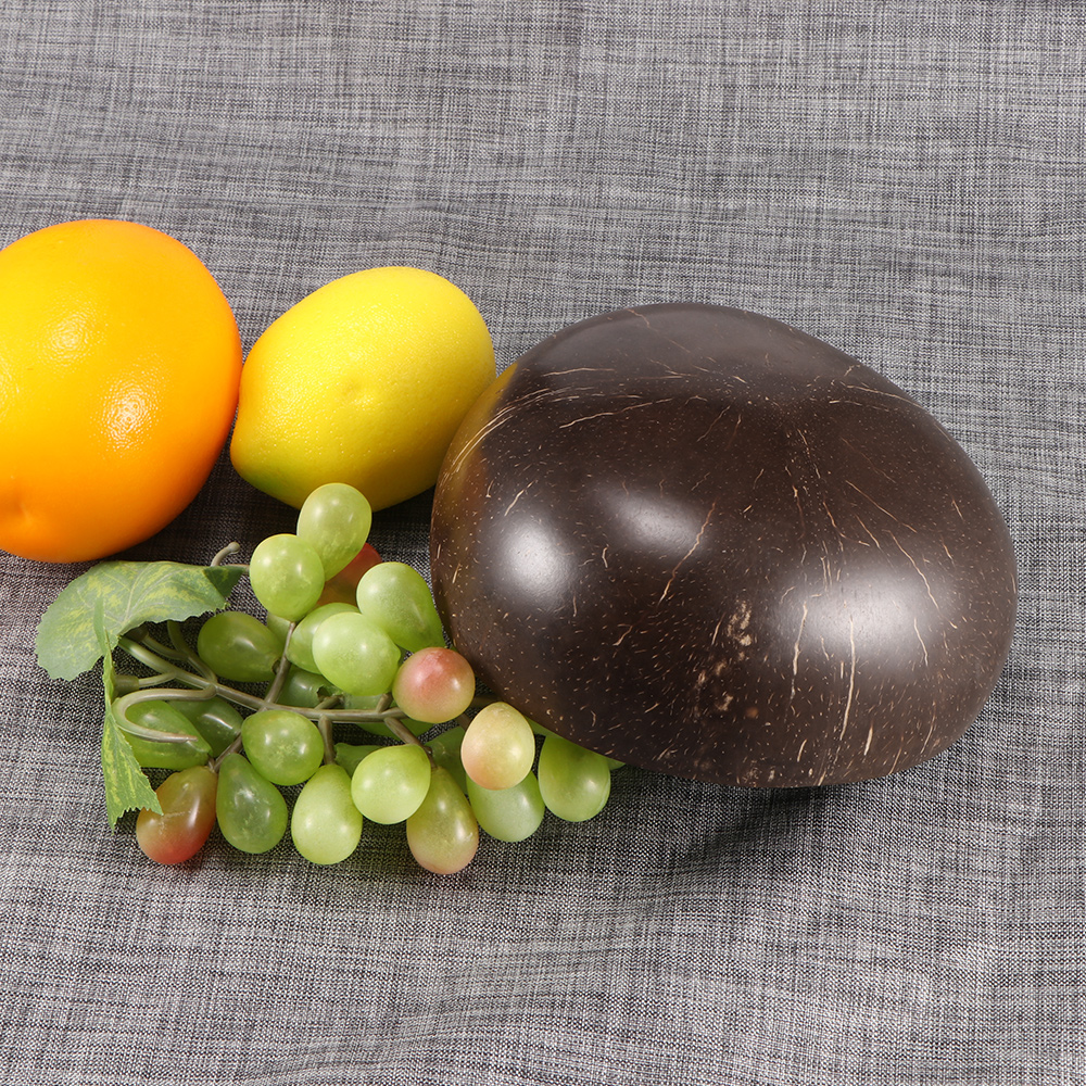 UPKOCH Natural Coconut Shell Bowl Storage Bowl Candy Container Nuts Holder /ï/¼/ˆDistinguished gold/ï/¼/‰