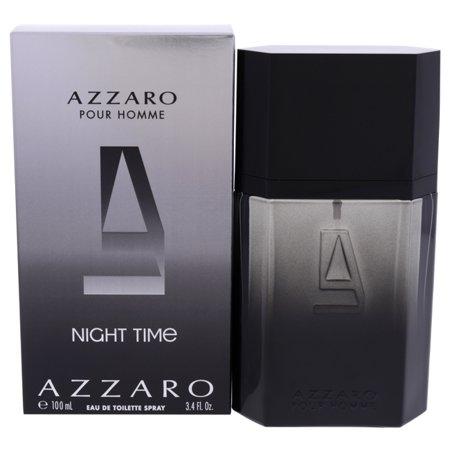 Azzaro Pour Homme Night Time by Azzaro for Men - 3.4 oz EDT Spray
