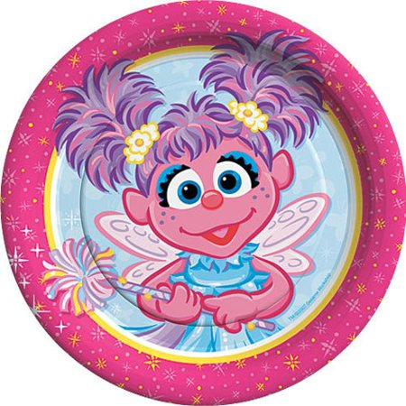 Abby Cadabby Small Paper Plates (8ct)](Small Decorative Plates)