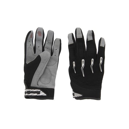 Race-Driven ATV MX Off Road Silicone Fingertip Riding Gloves (Mx Riding Gloves)