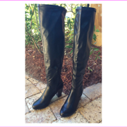 Kenneth Cole Women's Free Love Tall , Thigh  High Boot, Black, Size 7 Med.