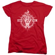 Constantine Damed To Hell Womens Short Sleeve Shirt