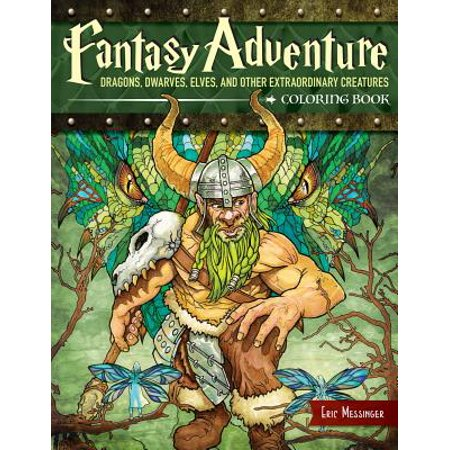 Warhammer Fantasy High Elves (Fantasy Adventure Coloring Book : Dragons, Dwarves, Elves, and Other Extraordinary Creatures)