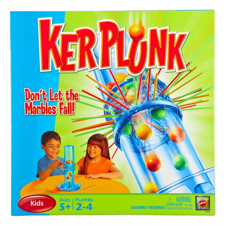 Ker Plunk! Marbles Classic Game for 2-4 Players Ages 5Y+